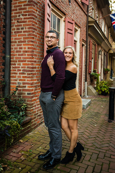 MICHELLE AND NICK - OLD CITY ENGAGEMENT SESSION - 33.jpg
