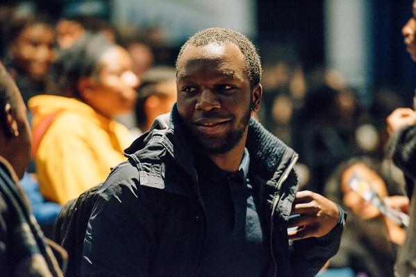 LUU - BHM, Man up! Black Masculinity and Mental Health / 24th October 2017