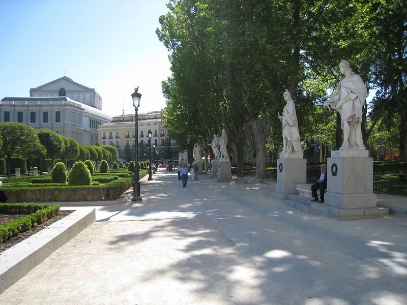 Madrid Opera courtyard