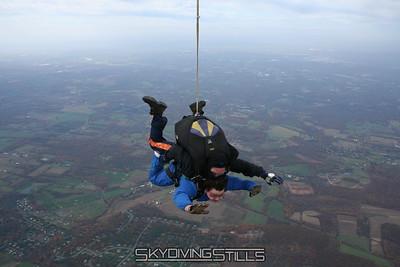 Fran and Edward go skydiving!