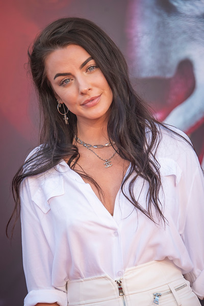 """WESTWOOD, CA - AUGUST 26: Kylie Rae attends the Premiere Of Warner Bros. Pictures' """"It Chapter Two"""" at Regency Village Theatre on Monday, August 26, 2019 in Westwood, California. (Photo by Tom Sorensen/Moovieboy Pictures)"""