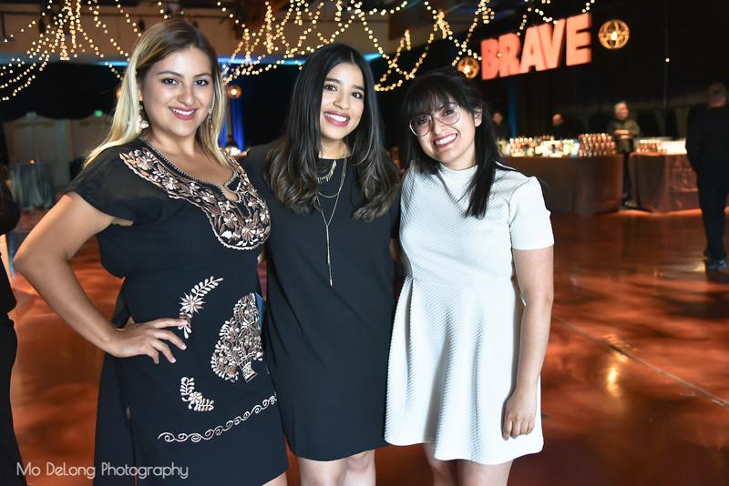 Reyna Aguila, Jane Rivas and Brissa Teodoro