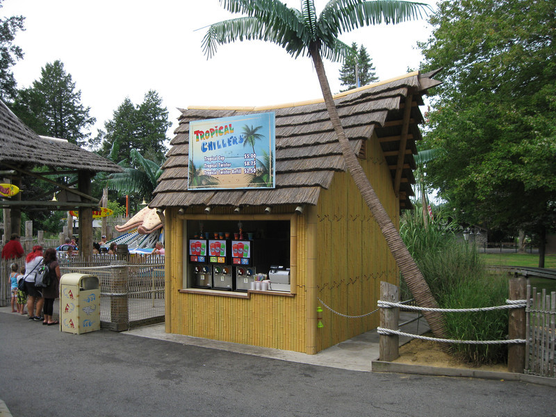 The new Tropical Chillers slush stand by Wipeout.