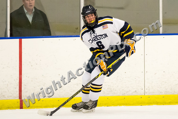 2016 12 01 Clarkston Varsity Hockey vs West Bloomfield