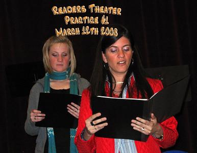 Readers Theater Practice #1 3-12-08