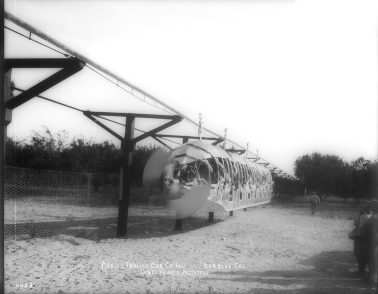 If Skyway like monorails were the trains of the future, as JTA led Jacksonville to believe, then why did Burbanks Aerial Swallow, never get beyond it's 1912 demonstration.This 'Skyway' was known as 'Fawkes Folly' for it's inventor.