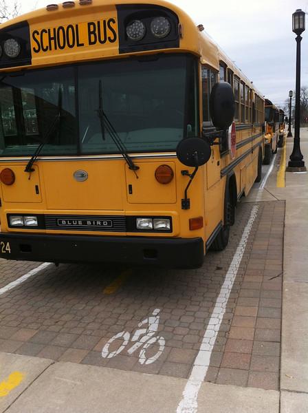 Purdue Bike Lane Obstructions
