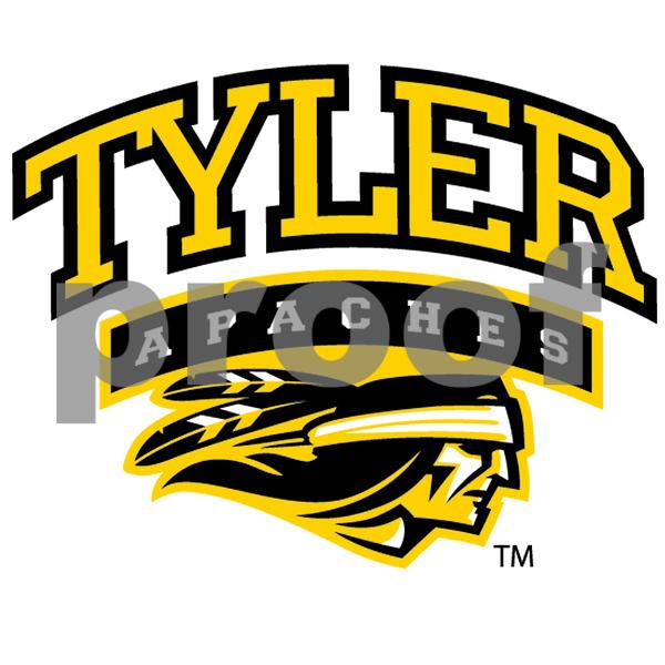 Tyler Apaches Full Logo 2C)