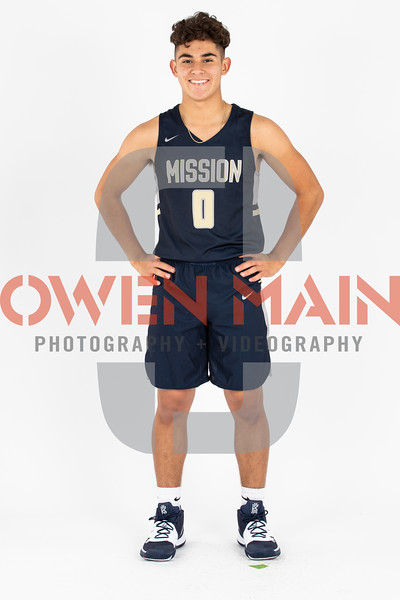Mission Prep Men's Basketball 2019 Marketing Photos