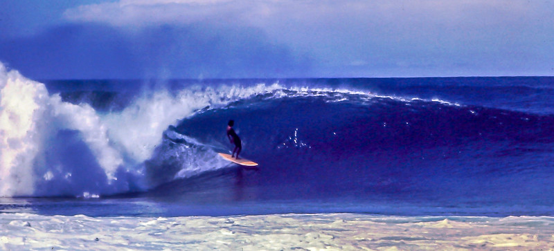 The original Pipeline Master Gerry Lopez. Making it look easy.