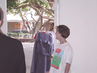 2001, Lance and Mandy Wedding