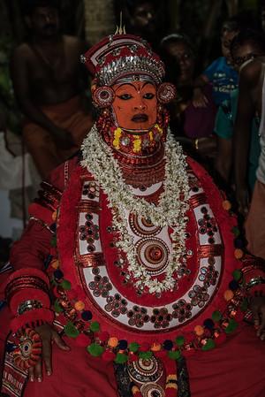 Southern India 2016_Theyyam Festival/Kunnur