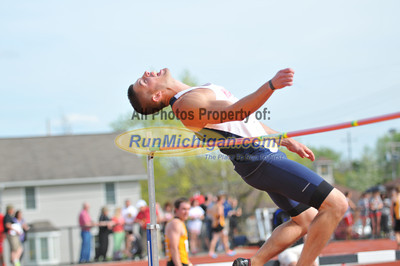 Men's High Jump - 2013 GLIAC Outdoor Track and Field Championships