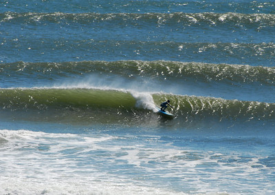 Surfing at Lawrencetown (April 20)