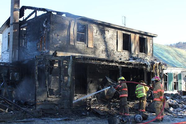 Bassett Farm Fire