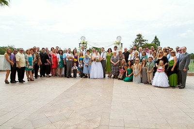 Wedding Party and Family
