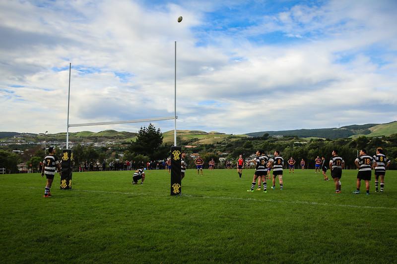 Under-21 Rugby union match between Tawa v Oriental-Rongotai at Redwood Park, Tawa, Wellington, New Zealand on 25 June 2016. Final score 27-8 to Tawa