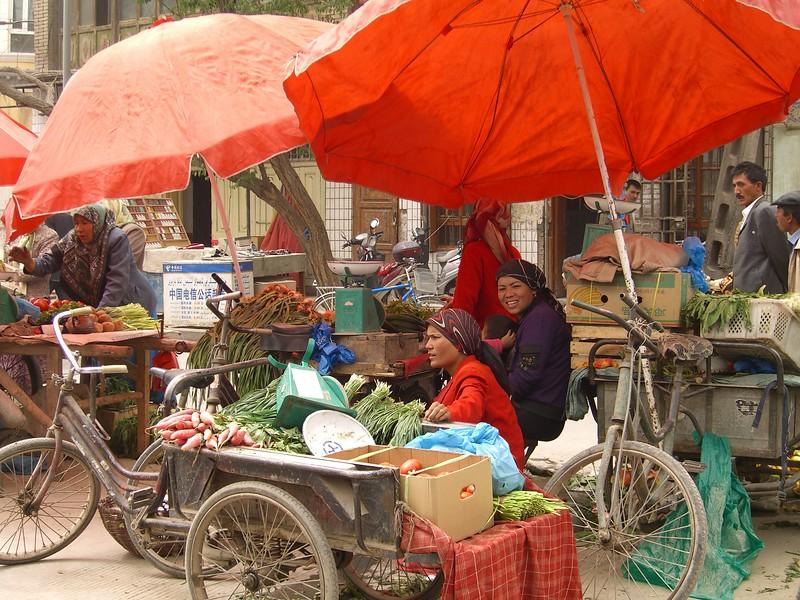 Kashgar street scene - Kaitlin Lutz
