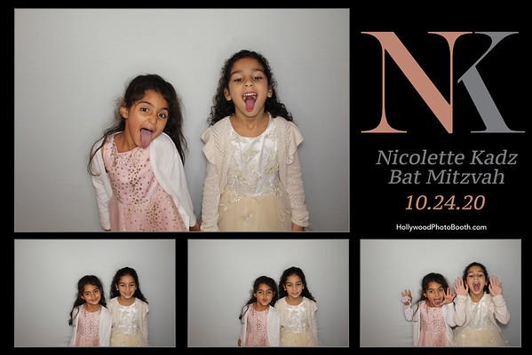 Nicolette Kadz Bat Mitzvah