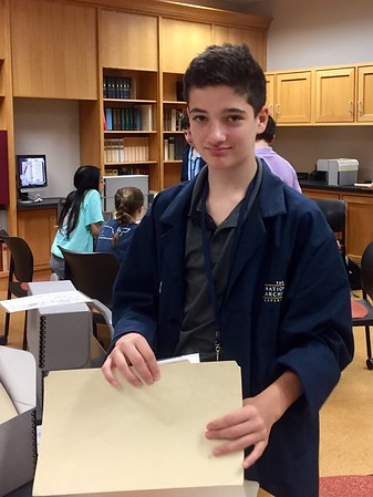Sixth Graders Learn about Preserving History at the National Archives