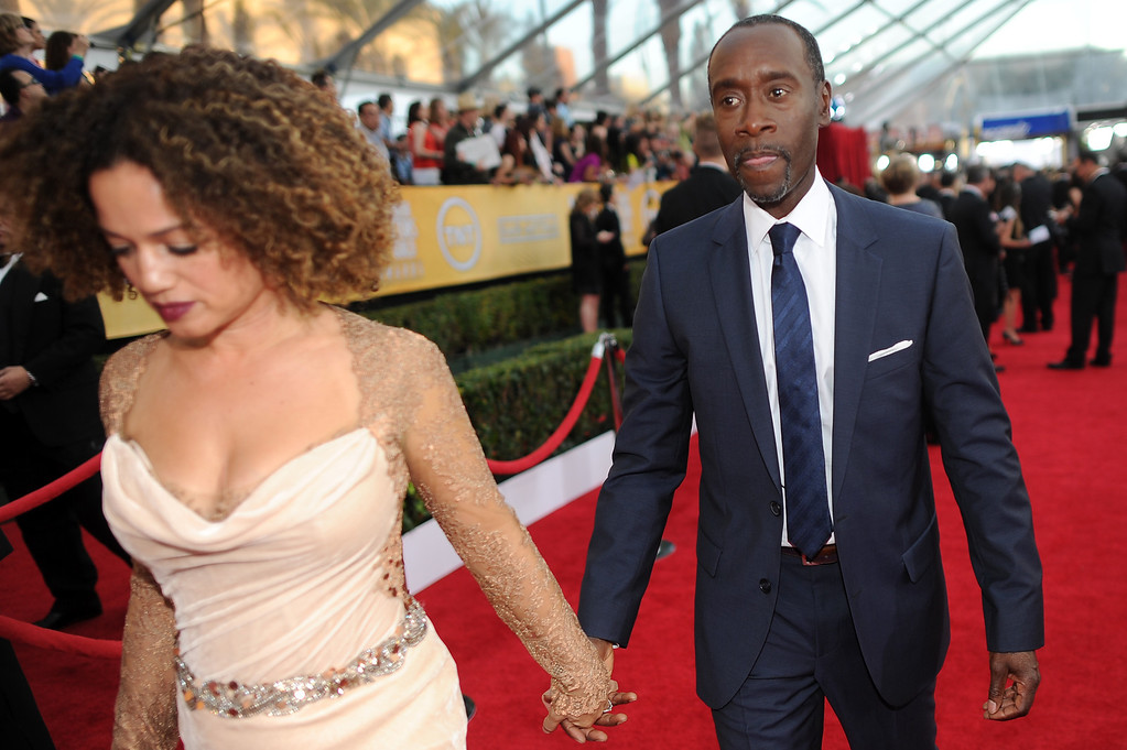 . Don Cheadle on the red carpet at the 20th Annual Screen Actors Guild Awards  at the Shrine Auditorium in Los Angeles, California on Saturday January 18, 2014 (Photo by Hans Gutknecht / Los Angeles Daily News)