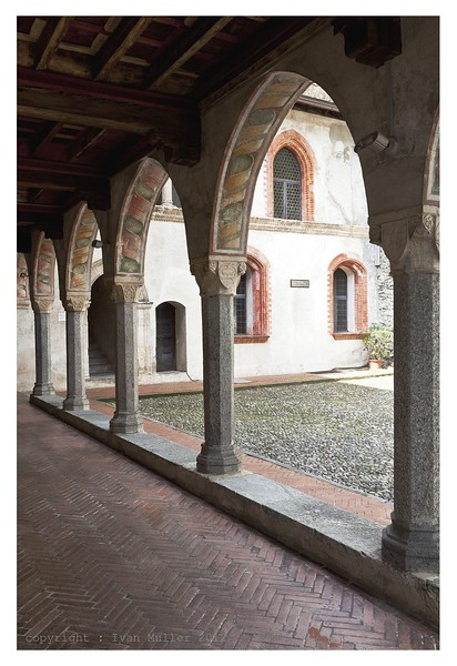 Visconti Castle, interiors. Source: Pinterest