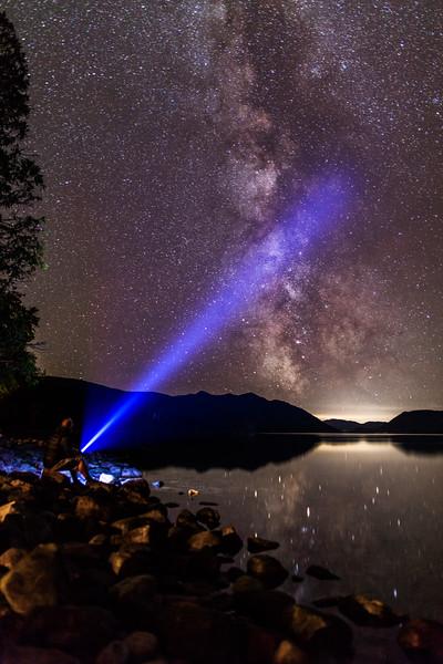 Milky Way, Lake McDonald