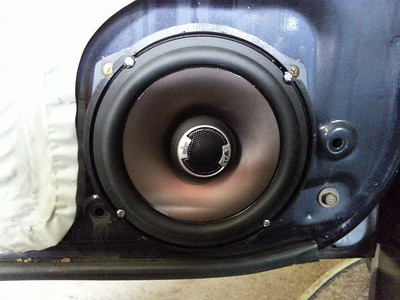 1995 Honda Accord LX 4 Door Front Door Speaker Installation - USA