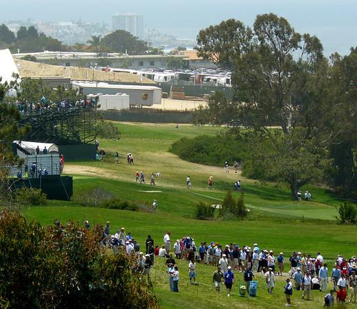 US Open golf June 12, 2008
