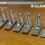 SKU: R-CLAMP/6, A Set of Six CNC Router T-Slot Table Clamping Kits