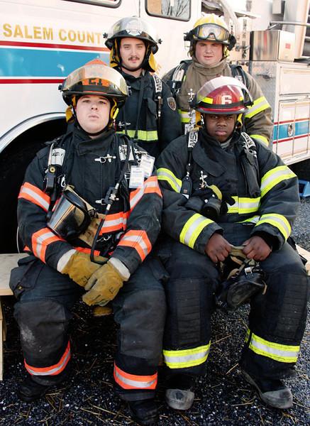 Firefighter I 2009 Class Shots
