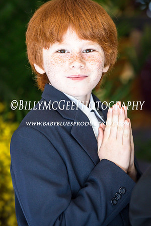 Nick's First Communion - 17 May 2014