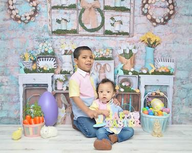 Matthew & Ethan Easter 2020