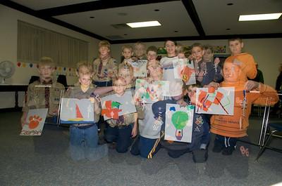 Art Project Den Meeting 1-8-09