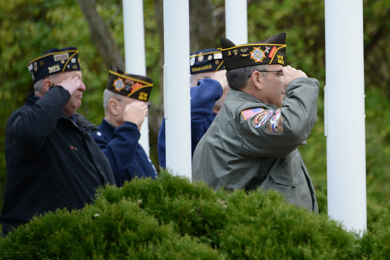 Veterans Day Ceremony - Naperville, Illinois - November 11, 2016
