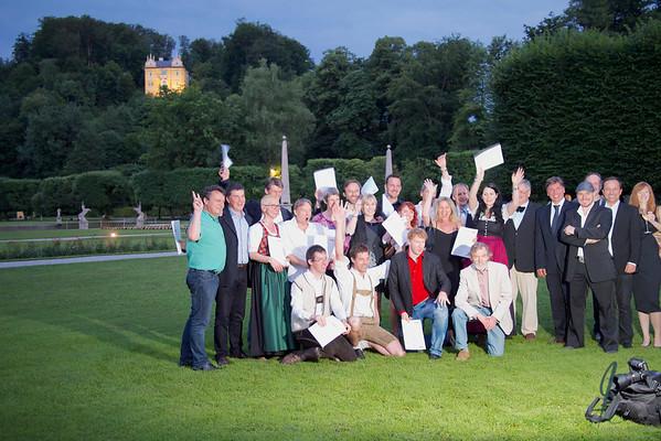 2013_07 Meisterklasse-Feier Schloß Hellbrunn