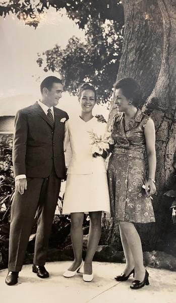 1969- Casamento da Lena Norberto Guimaraes
