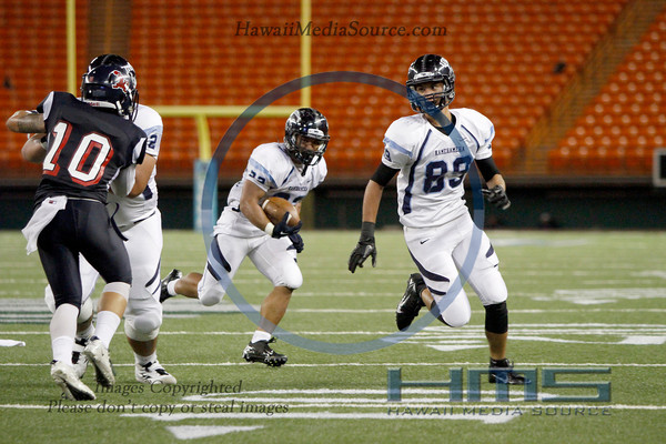 Kamehameha Football - STL 8-30-13