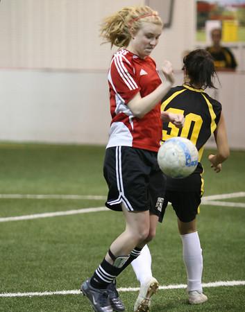 EP Storm U15 Soccer vs Burnsville Blaze @ Indoor Soccer Blast (April 15, 20070