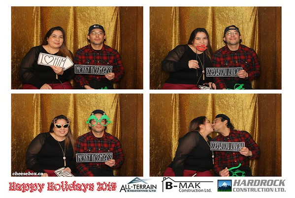 Hardrock * B-Mak * All-Terrain Holiday Party 2019
