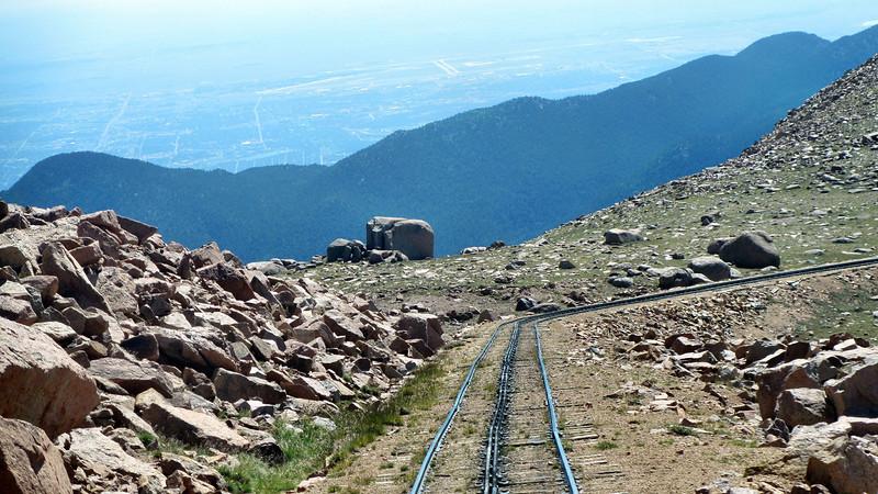 Pike's Peak Cog Railroad, Colorado Springs, CO