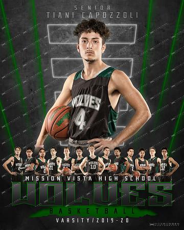 MVHS Basketball 2019-20