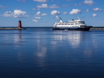The Yorktown Comes to Manistique