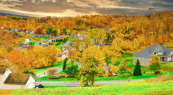 Pennsylvania, Fall colors, 2020, 宾夕法尼亚, 秋色