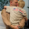 AIRFORCE OFFICER RETURNS FROM IRAQ
