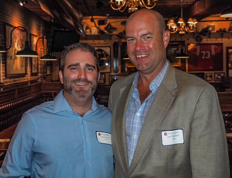 Casey Coons '07 and Jon Hartnett '95