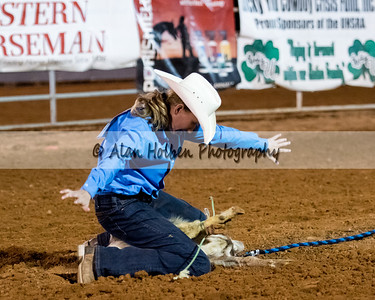 2018 Junior High Rodeo (Friday) - Girls Goat Tying