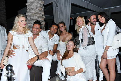French Tuesday White Party in Hollywood