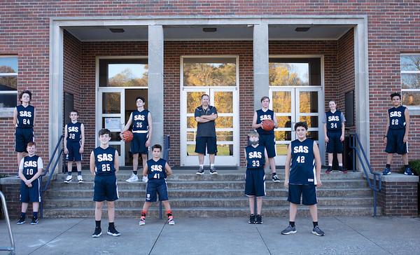 Middle School Boys' Basketball 2020