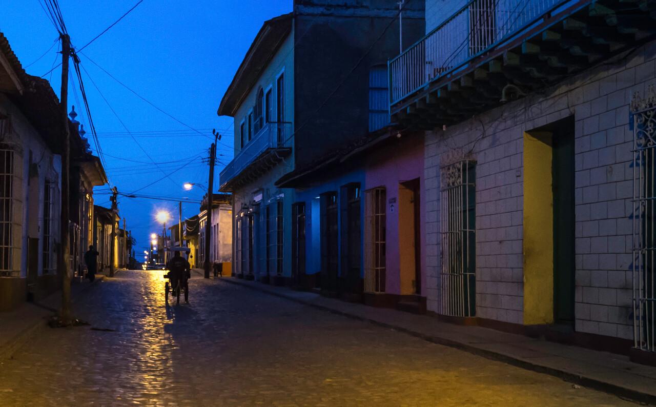 Dawn in Trinidad Cuba